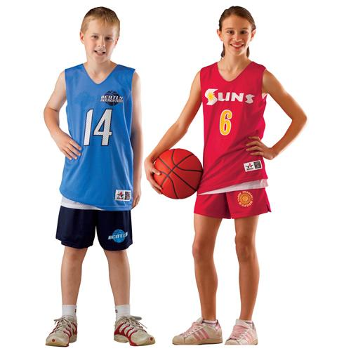 Mesh Reversible Jersey - Youth-Color:Royal/White,Size:SML