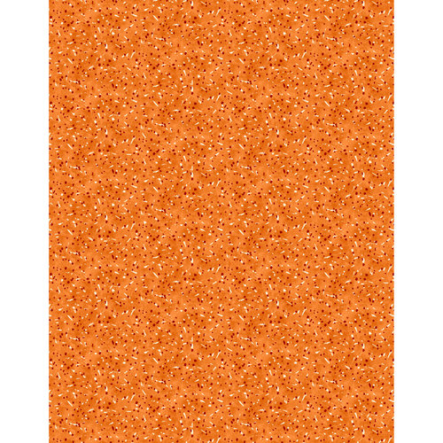 Rainbow Wall Speckle Fabric, Orange