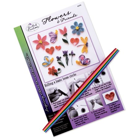 Quilling Kit Flowers And Friends