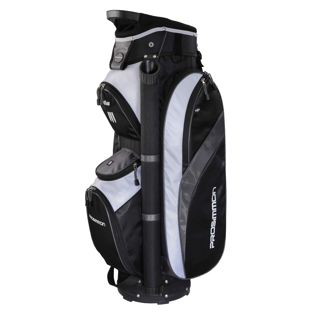 Prosimmon Tour 14 Way Cart Golf Bag Black/Grey