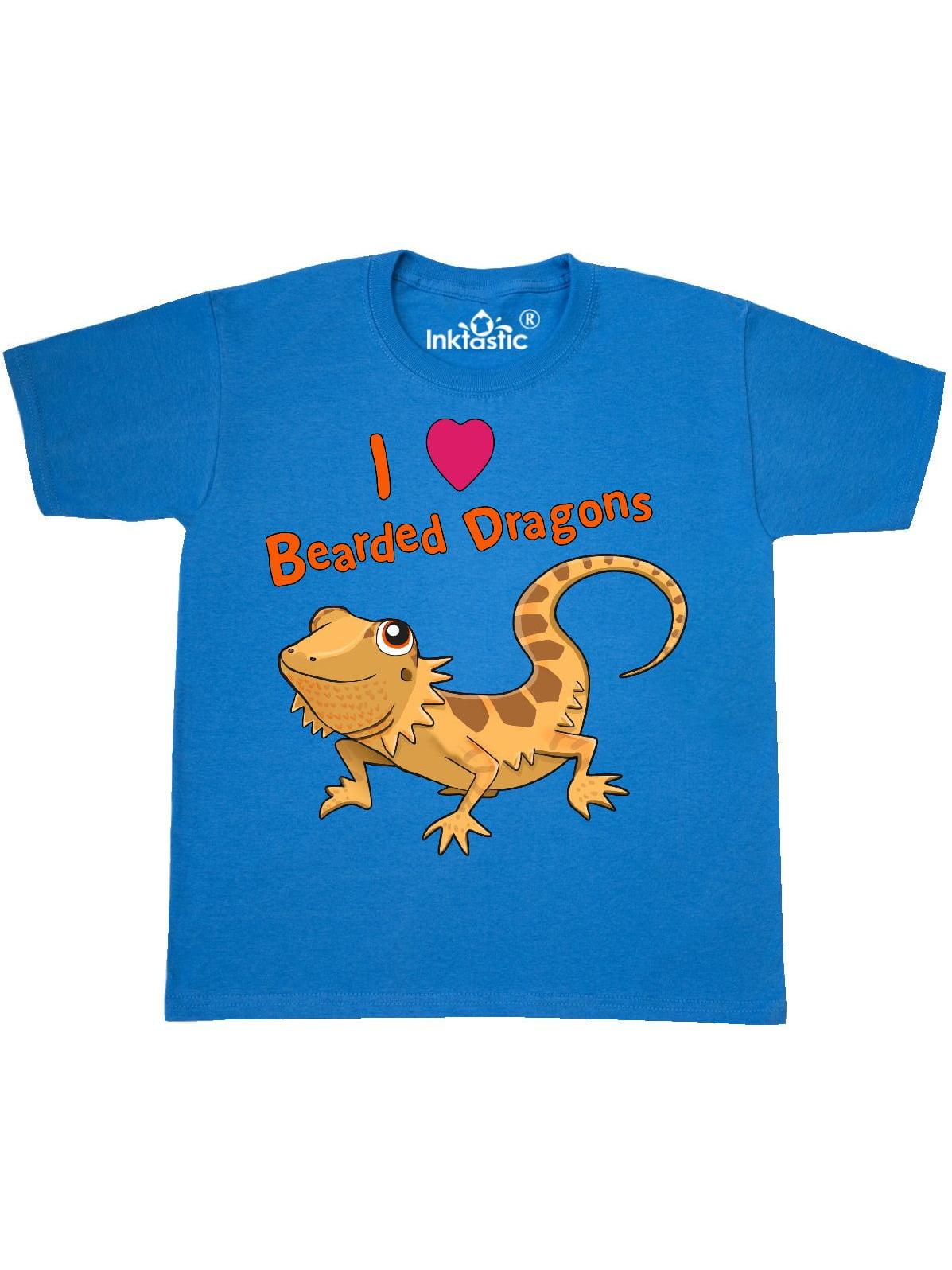 I Love Bearded Dragons Youth T-Shirt