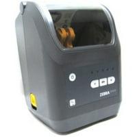 Refurbished Zebra Technologies ZD42042-T01E00E ZD420 Monochrome Thermal Transfer Printer - 4-inch Print Width - 203 dpi - USB, Ethernet