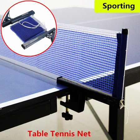 Table Tennis Net Clamp Post Stand Set Indoor Game Ping Pong Replacement Post Mesh Sports