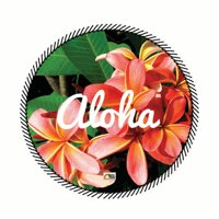 Terry Time Kailani Round Beach Towel