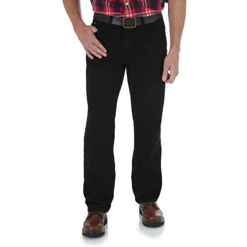 Image of Wrangler Relaxed Fit Waist Sz 28-42