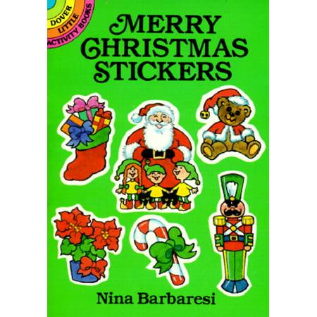 merry christmas stickers walmartcom - Merry Christmas Stickers