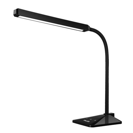 - 360°rotation Desk Lamp LEDs 5 Colors and 5 Levels Brightness Dimmable Table Light