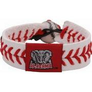 NCAA Alabama Crimson Tide A Logo Classic Baseball Bracelet 024601