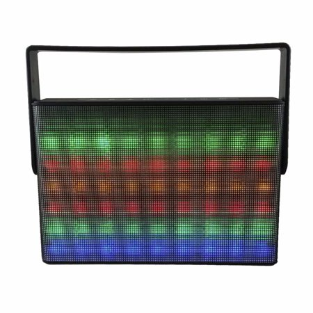 LED Colorful Lights Wireless Bluetooth Speaker for Sharp Aquos Xx,Z3, Crystal 2, Crystal, MS1 (Black) (Sound Bar Sharp Aquos)
