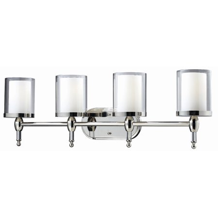 Laude Run Kirsch 4 Light Vanity
