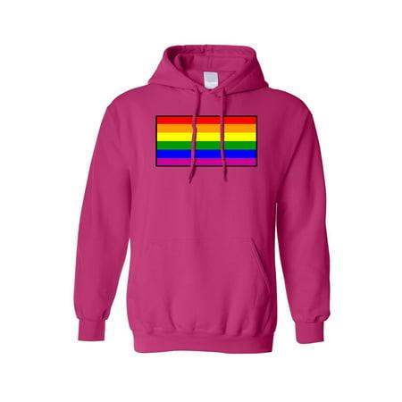 Unisex Pullover Hoodie Gay Pride Rainbow Flag Pride Kids Sweatshirt