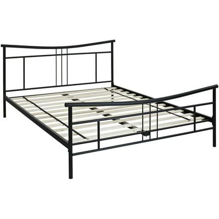 Chelsea Black Metal Twin Platform Bed Frame Walmart Com