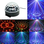 Led Rotating Light Lighting Full Color Disco Party Crystal