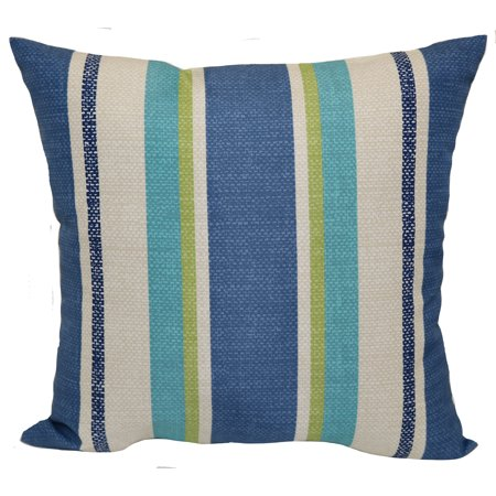 Mainstays Outdoor Pillow Bower Denim Walmart Com