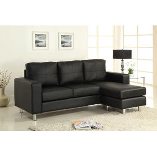 Riga Contemporary Style Sectional Sofa With Free Ottoman