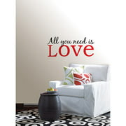 "WallPops ""All You Need Is Love"" Wall Art Decals"