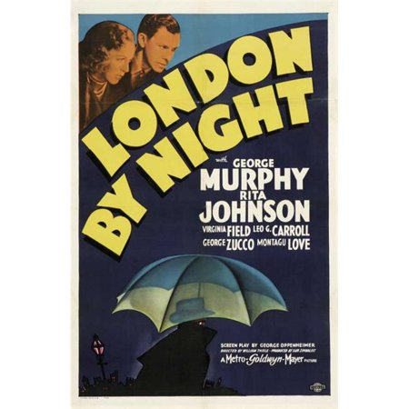 Posterazzi MOVGB25550 London by Night Movie Poster - 27 x 40 in. - image 1 of 1