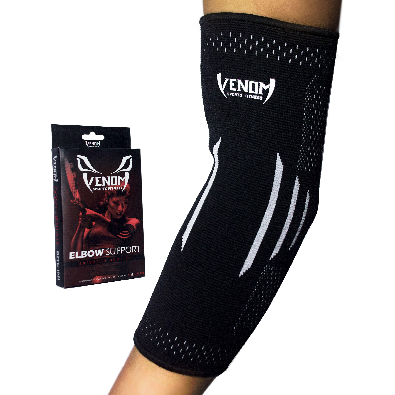 110732a1cdb16f Venom Sports Fitness Elbow Brace Compression Sleeve Support - Walmart.com