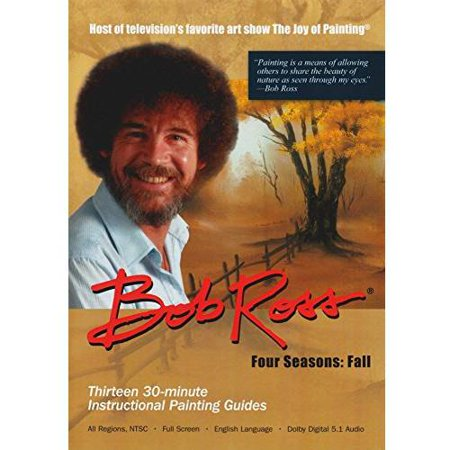 Bob Ross The Joy Of Painting  Fall Collection  3 Disc   Full Frame