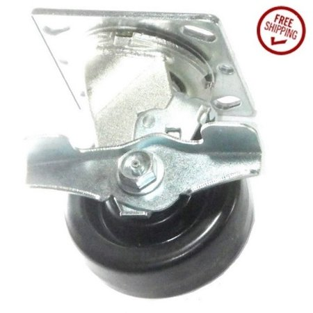 Cabinet Caster - (1) Tool Box Swivel Caster 4