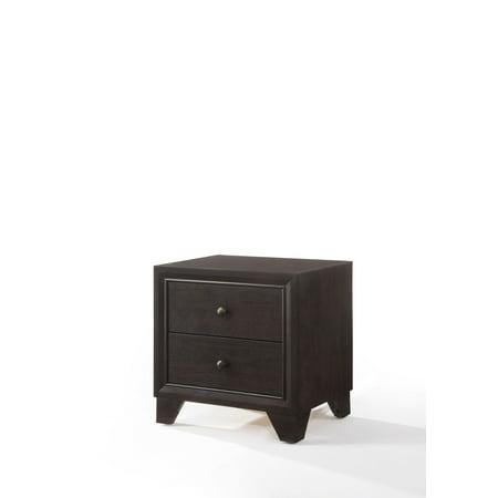 ACME Furniture Madison Nightstand, Espresso Acme Furniture Bedroom Nightstand