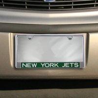 New York Jets Color Glitter Metal Frame - Jets