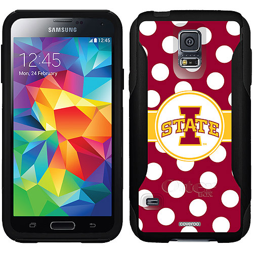 Iowa State Polka Dots Design on OtterBox Commuter Series Case for Samsung Galaxy S5