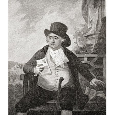 Charles James Fox, 1749 to 1806 British Whig Statesman From The Book Short History of The English People by J.R. Green Published London 1893 Poster Print, 26 x 30 - Large - image 1 of 1