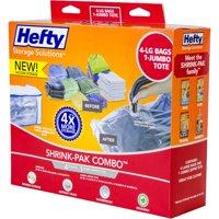 Hefty Shrink Pak Vacuum Seal Bags