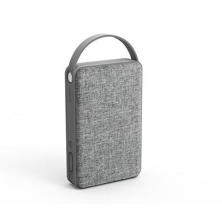 photive m3 portable wireless bluetooth speaker best trendy stylish audio sound system 10 watt hifi stereo bass sub woofer fabric