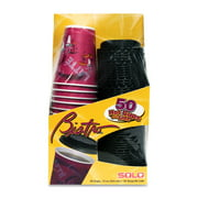 Solo Bistro Hot Cup - 12 Oz - 50/pack - Polystyrene - Gray (FSX120041_35)