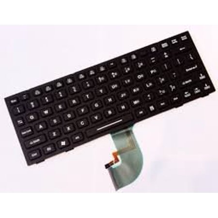 Genuine Panasonic Toughbook CF-19 CF-18 Rubber Backlight Keyboard - Panasonic Keyboard