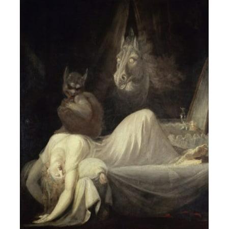 The Nightmare (The Incubus) 1781-82 Henry Fuseli (1741-1825Swiss) Freies Deutsches Hochstift Frankfurt-am-Main Canvas Art - Henry Fuseli (18 x 24)