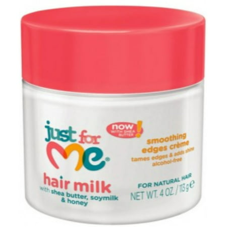 Soft & Beautiful Just For Me! Hair Milk Smoothing Edges Creme, 4 oz (Pack of (Just For Me Soft And Beautiful Texture Softener)