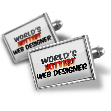 - Cufflinks Worlds hottest Web Designer - NEONBLOND