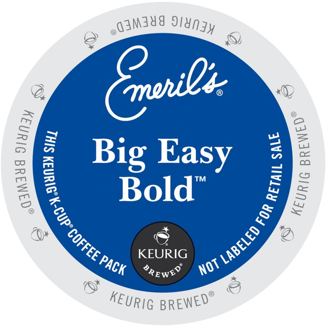 Emeril's Big Easy Bold Coffee, K-Cup Portion Pack for Keurig Brewers