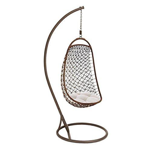 UMA Enterprises Iron Patio Egg Swing Chair