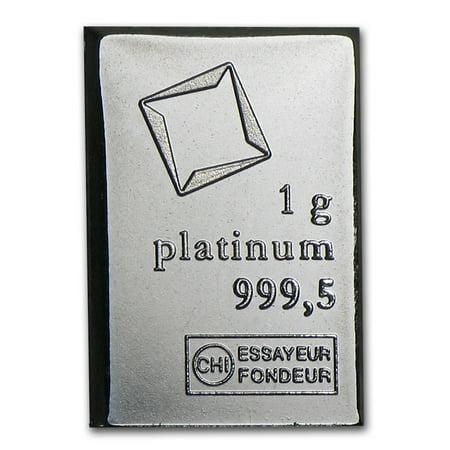 1 gram Platinum Bar - Valcambi (Platinum Bullion)