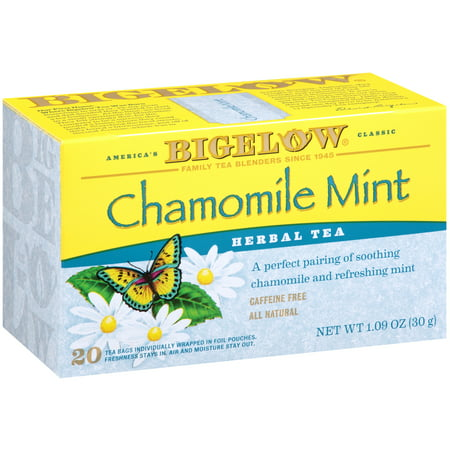Rosemary Mint Bath Tea ((2 Pack) Bigelow, Chamomile Mint, Tea Bags, 20 Ct)