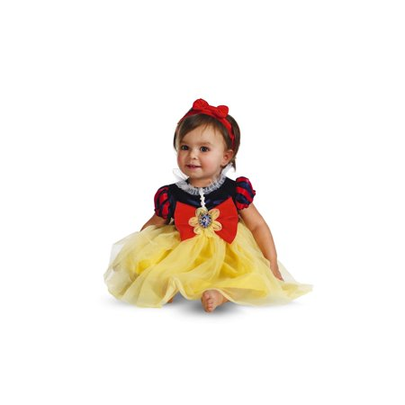 Snow White Deluxe Infant Halloween Costume (Halloween Costumes For Infants 3 6 Months)