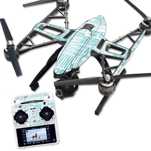 Skin Decal Wrap for Yuneec Q500 & Q500+ Quadcopter Drone Faith