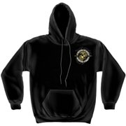 Marines, USMC Never Retreat Sweatshirt by , Black, L