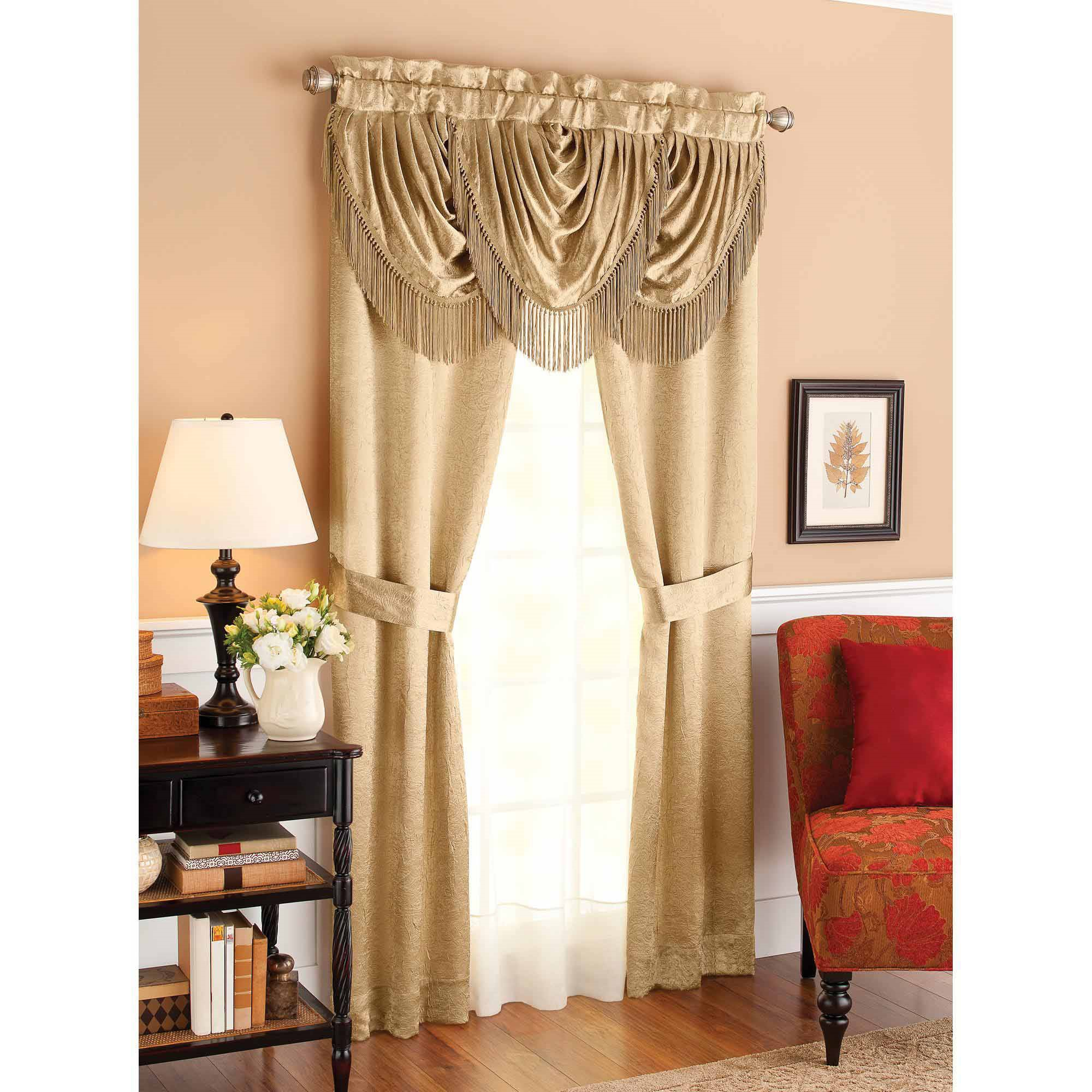 Better Homes and Gardens Triple Waterfall Window Set Walmart