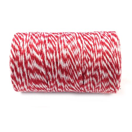 Wrapables® Cotton Baker's Twine 12ply 110 Yard, Red