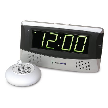 Sonic Alert SB300SS Sonic Bomb Large-Display Alarm Clock with Super (Best Cd Player Under 300)