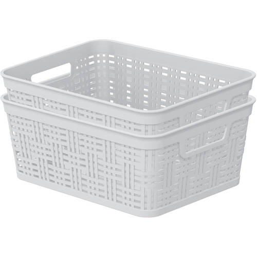 Mainstays Small Decorative Basket, 2-Pack
