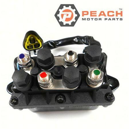 Peach Motor Parts PM-61A-81950-01-00 PM-61A-81950-01-00 Relay Assembly,  Trim Tilt