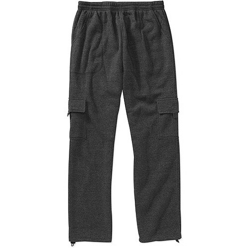 Big Men's Cargo fleece pant