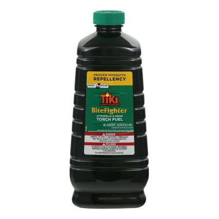 TIKI Brand Bite Fighter Citronella & Cedar Torch Fuel, 64 Fl. Oz.