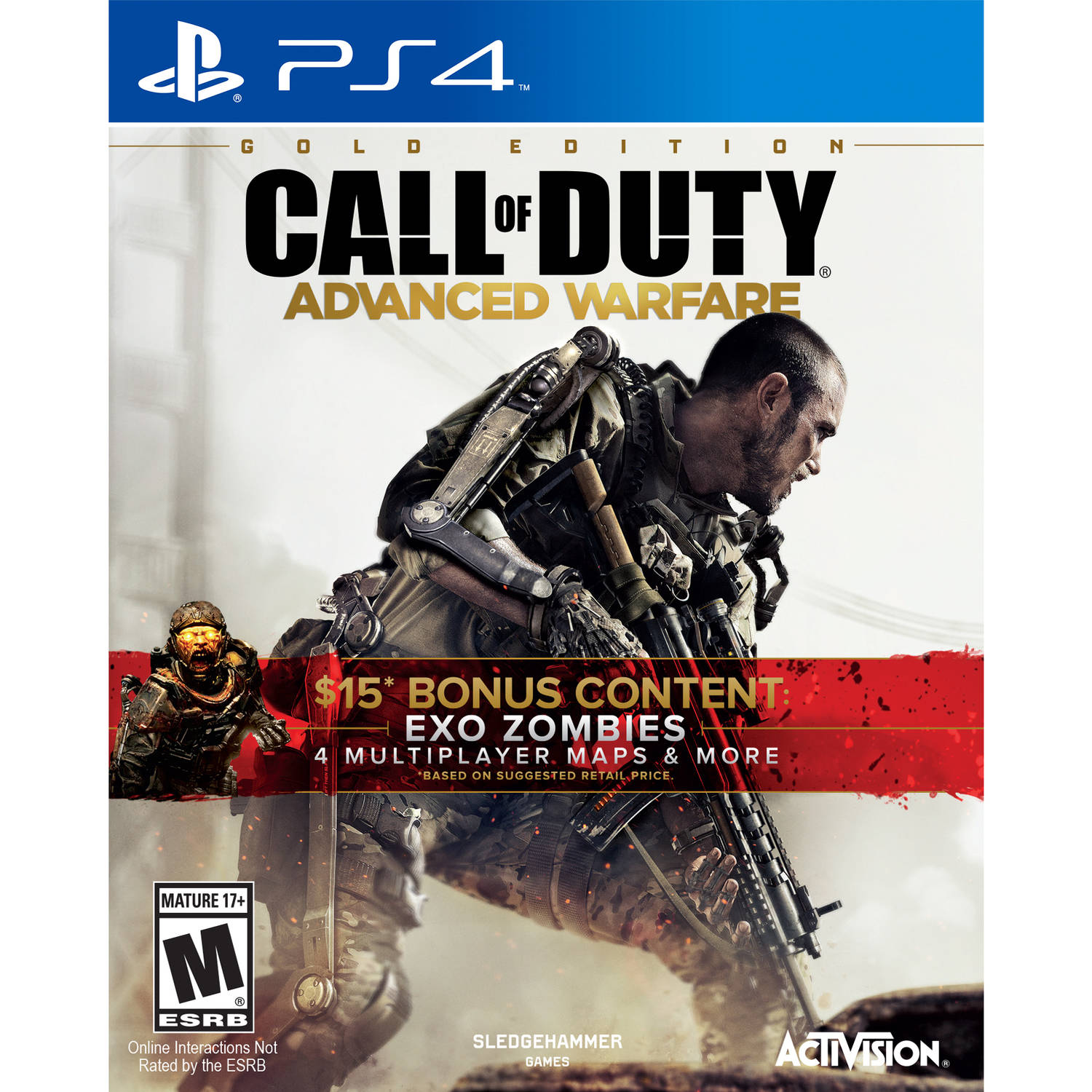 Call Of Duty Advanced Warfare Gold (PS4)